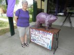 Purple Colleen and the Purple Wombat