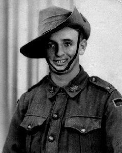 William Hare in Army uniform during WW2